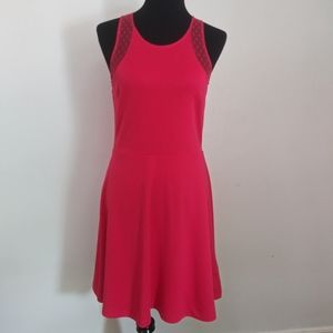 H&M racerback fit and flare dress